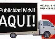Publicidad movil-vallas moviles-marketing movil