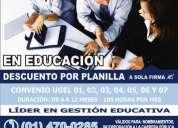 Diplomados en educacion undac