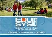 Software de gestion educativa para colegios, institutos y cetpros