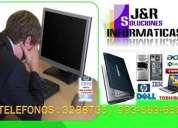 Servicio tecnico reparacion de computadoras laptops a domicilio