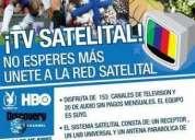 Tv satelital de peru,chile, venezuela, colombia + canales premium