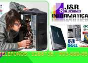 Soporte reparacion de computadoras laptops cabinas de internet