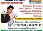 S/600.00 urgente una domestica !!!