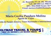 Agencia de viajes y turismo tickets aereos bus printer
