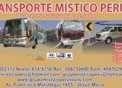 Transporte turistico alquiler de buses
