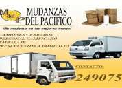 mudanzas del pacifico - servicio de mudanza y embalajes en lima