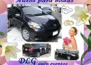 autos para novias, quinceaÑos, bodas de oro