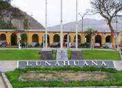 Transporte privado a lunahuana, caÑete, ica, paracas, nazca, chan