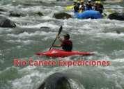 """Lunahuaná  km33. """"río cañete expediciones"""" canotaje,campamento,."""