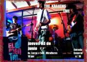 "The krakens live con ""lo mejor del rock and roll"""