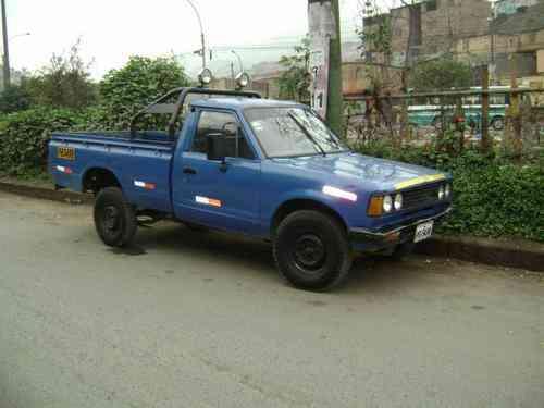 Vendo camioneta datsun aÑo 80 $ 2,800 USD