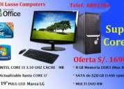 Computadoras  super core i3 intel full equipo