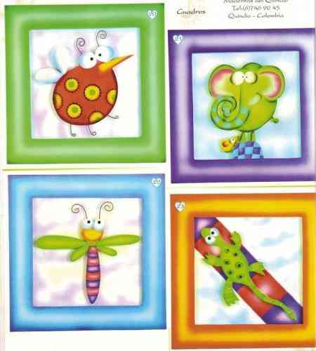 Fotos de cuadros decoracion dormitorio ni os ni as bebe - Cuadros para habitaciones de ninas ...