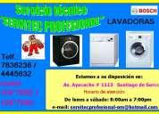Servicio tecnico de lavadoras bosch lima