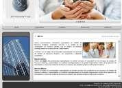 DiseÑo de pÁginas web + correos corporativos para su empresa
