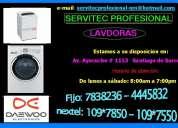 Servicio tecnico lavadoras daewoo 7265565 lima
