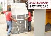 Embalajes mudanzas transportes en lima 2541542 / 99412*0466