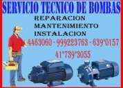 S.g.v 4463060 bombas de agua pedrollo - myers reparacion,mantenimiento e instalacion