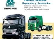 Venta de camiones repuestos y reparaciones
