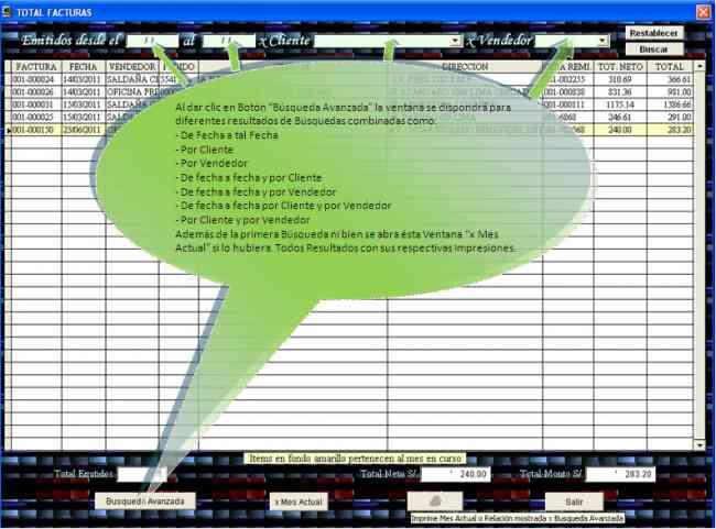 Software-Sistema de facturacion basico adaptable p/empresas, negocios, etc.