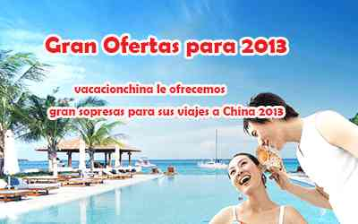 Turismo China para sus vacaciones China 2013-vacacionchina.com