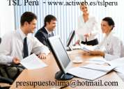 Tsl perú - servicios de traducción e interpretación de alta calidad y a costos competitivos