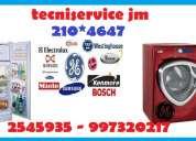 ((alo () tecniservice   auxilio tecnico (( refrigeradoras  general  electric .)) tlf: 2545935