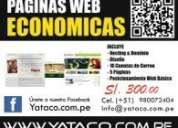 Diseño de pagina web en breña