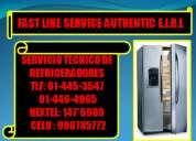 servicio tecnico de refrigeradores frigidaire tlf:445-3547 // 446-4965