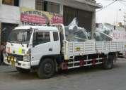 Servicio de  carga en camion baranda  rebatible de 02, 03, 04, 06, 07, 08, 12, 15, 25tn  l