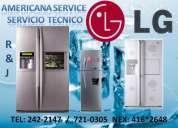 américa service servicio tecnico de refrigeradoras lg tlf :721-0305