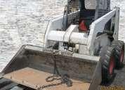 Minicargador frontal bob cat 853