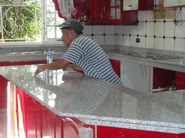 Mesa tablero cocina granito marmol lima lima otros for Mesas de marmol y granito