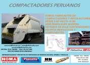 Compactadores de basura, equipo hidráulico