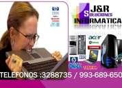 Servicio tecnico de computadoras,laptops,redes,cabinas,a domicilio-3288735