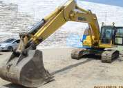 Excavadora komatsu pc 220 lc equibalente a una 325bl