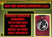 Servicio tecnico de secadoras electrolux tlf:445-3547