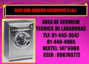 Servicio tecnico de lavadoras frigidaire tlf:446-4965