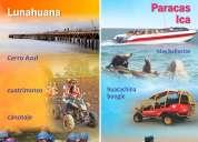 1 de mayo todos al sur!! full day lunahuana-ica-paracas!!