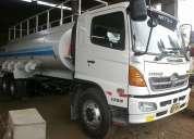 Alquler de camiones cisternas de agua