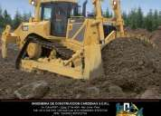 alquiler de tractor oruga caterpillar d8r 2005 con ripper – incca