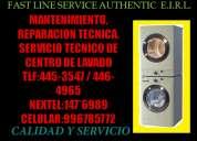 Servicio tecnico de centro de lavado samsung telf:446-4965