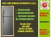Servicio tecnico de refrigeradores lg telf:446-4965