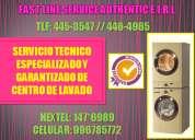 Servicio tecnico de centro de lavado general electric telf:445-3547