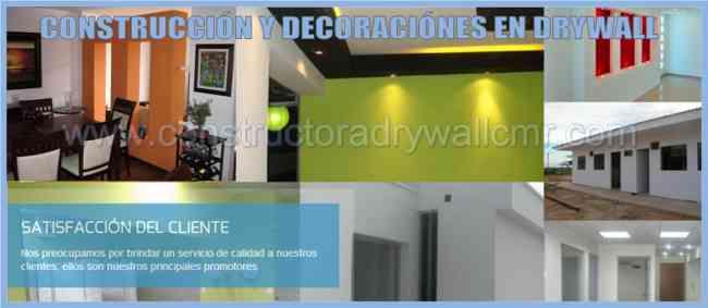 EXPERTOS EN SISTEMA DRYWALL Y TECHOS ACUSTICOS DE BALDOSAS PARA OFICINAS, SPA  418*2817