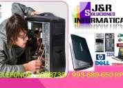 Servicio tecnico a computadoras laptops señal wifi,redes a domicilio