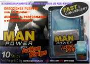 Potencia viril al instante!! en laminitas masticables de menta