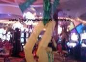 Muñecones gigantes en lima  marionetas gigantes marotes en lima