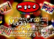 Shows infantiles magiando