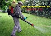 Servicios de fumigacion para negocios casas etc. recarga y venta de extintores